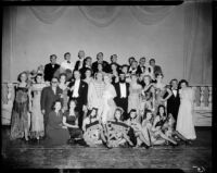 """Merry Widow"" cast members, Barnum Hall, Santa Monica, possibly 1960"