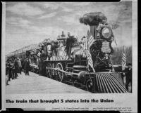 Article page regarding a Northern Pacific locomotive
