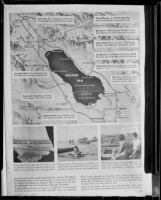 Page of article describing the Salton Sea and surrounding features, 1952
