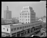 Central Tower Building on Fourth Street, Santa Monica, 1938