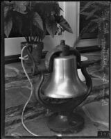 Dinner Bell at the Will Rogers Ranch, Pacific Palisades, 1935