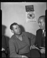 Charles Hope, witness and suspect in Mary Emma James murder case, 1936
