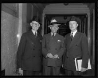 Petitioner against Fox West Coast Theatres T.L. Tally  and attorneys R. Dean Warner and William H. Neblett, 1936