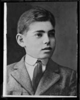 Actor Clark Gable as a boy, [Ohio?], [1910-1915?]