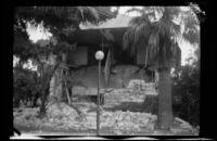 Earthquake-damaged County Jail, Santa Barbara, 1925