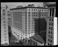 Bird's-eye view of the Biltmore Hotel, Los Angeles, [1920s?]