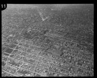 Aerial view of Los Angeles High School, Los Angeles, [1930s?]