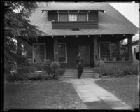 Walter and Mary Skeele residence, site of Mary B. Skeele kidnapping, Los Angeles, 1933
