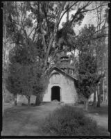 Coach barn, Rancho Santa Anita, Arcadia, 1938