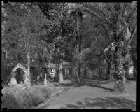 Hugo Reid Adobe, or Baldwin adobe, Rancho Santa Anita, Arcadia, 1938