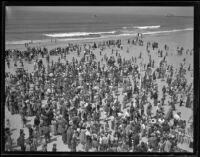 Easter egg hunt, Venice, 1938