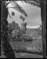Baldwin Lake, Rancho Santa Anita, Arcadia, 1938