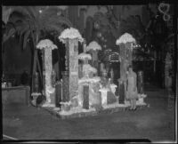 Kern County Chamber of Commerce display, California Fruit Exposition, Alhambra, 1926
