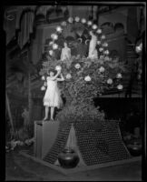 Alhambra Chamber of Commerce display, California Fruit Exposition, Alhambra, 1926