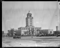 Beverly Hills City Hall shortly after it was completed, Beverly Hills, 1932