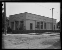 First National Bank of Beverly Hills, Beverly Hills, 1921
