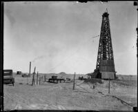 Oil well, Brawley, [1920-1939?]