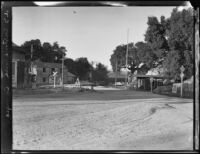 Immigration office and surrounding buildings, Campo, [1927?]