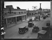 United States-Mexico border crossing, Calexico, [1927?]