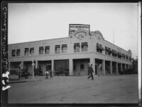 Edward Dool Building, Calexico, [1927?]