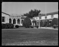 Azusa City Hall and Azusa Public Library, Azusa, 1934