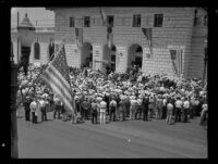 Glendale Post Office dedication, Glendale, 1934
