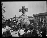 Dedication of American Green Cross conservation monument, Glendale, 1928