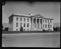 Inyo County courthouse, Independence, [1923?]