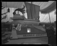 Orange County exhibit at the Southern California Fair, Riverside, 1926