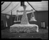 Coachella County exhibit at the Southern California Fair, Riverside, 1926