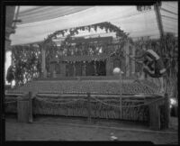 Hemet-San Jacinto Chamber of Commerce exhibit at the Southern California Fair, Riverside, 1926