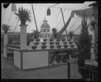 Sacramento County exhibit at the Southern California Fair, Riverside, 1926