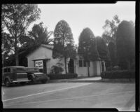 Parking lot at the California Pacific International Exposition in Balboa Park, San Diego, 1935-1936