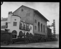 El Castillo Building and Masonic Temple, Santa Barbara, [1926-1928?]