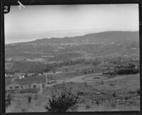 Bird's-eye view of Santa Barbara area, [1925-1930?]
