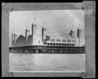 La Monica Ballroom, Santa Monica Pier, Santa Monica, 1924, rephotographed [1930s?]