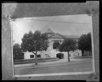 Santa Monica Public Library, Santa Monica, 1923, rephotographed [1930s?]