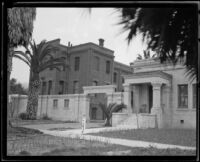Ventura School for Girls, Ventura, 1921