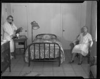 California Institution for Women, cottage interior, Tehachapi, 1933