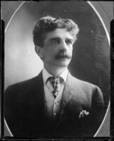 Lawyer Hollen M. Barston, [1890s?], rephotographed 1925