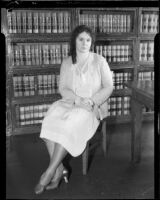 Lawyer Rosalind Goodrich Bates, [1931?]