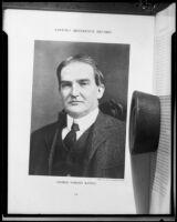 Lawyer George Gordon Battle, [1920-1927?], rephotographed 1927