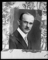 Kidnapping victim Frank Baumgarteker, [1920s?], rephotographed 1929