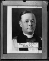 Reverend Harry Beal, [1920-1925?], rephotographed [1926?]