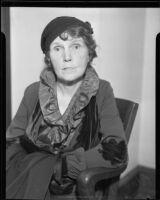 Edna Bancroft, [Los Angeles?], 1934
