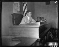 Judge Samuel R. Blake, [Los Angeles?], [1929?]