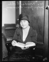 Judge Frieda Bohl, [1920-1939?]