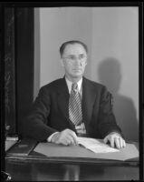 James A. Bonner, City Manager, Long Beach, 1935