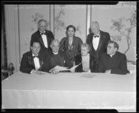 University Religious Conference participants, Los Angeles, 1927-1939