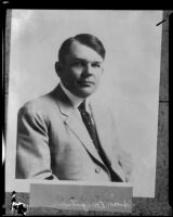 Architect George Edwin Bergstrom, [1920s?]